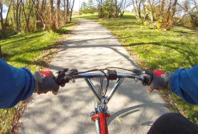 spring bike trail
