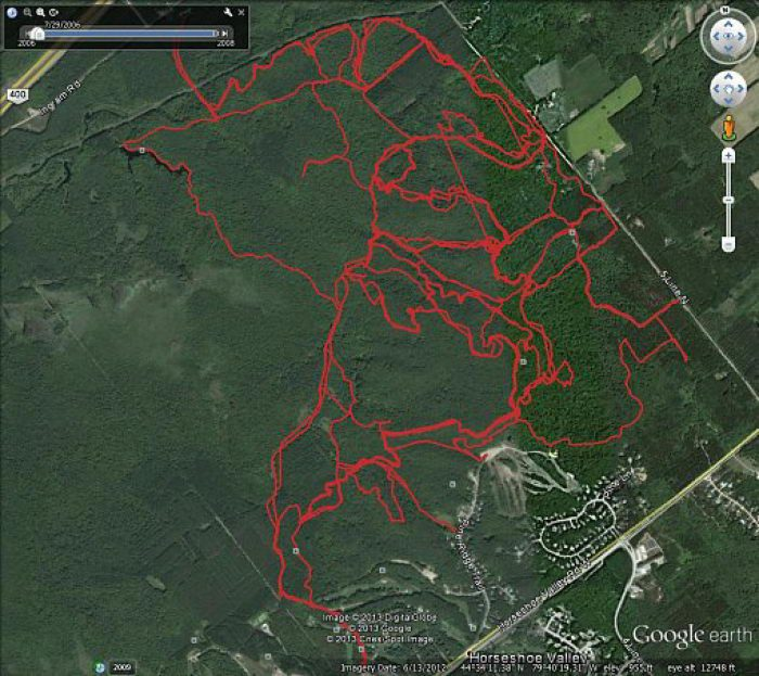 Copeland Forest Mtb Trails