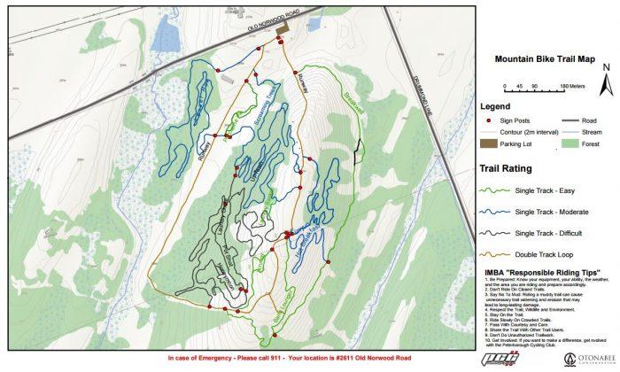 Harold Town MTB trails