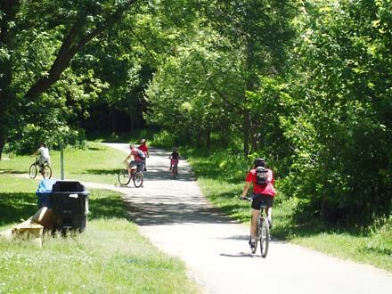 Family Friendly Rated Bike Rides - Ontario Bike Trails