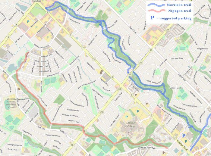 Morrison bike trail map