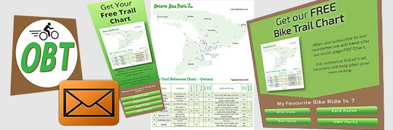 Free Bike Trail Reference Chart  Now Available  Ontario Bike Trails