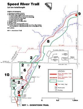 Speed River bike trail