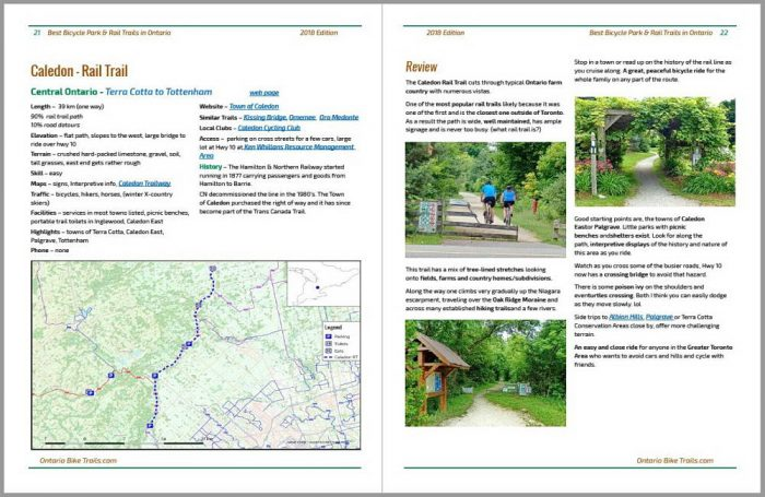 sample of trail review pages