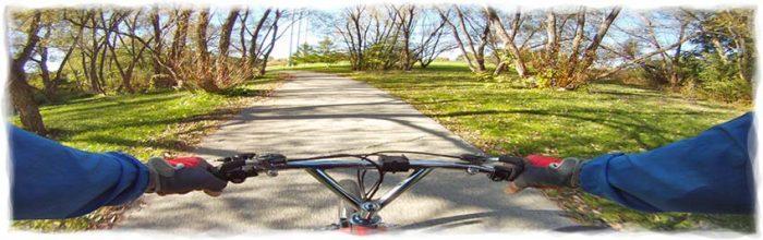 bike path on bike