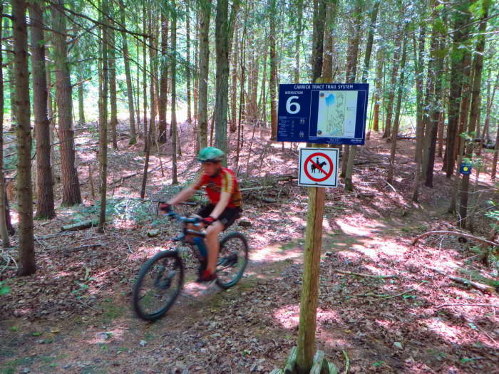 Carrick Tract – MTB Trail