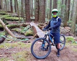 MTB rider in BC