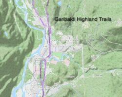 Squamish, BC trail map